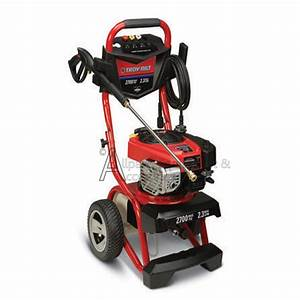 020486 Troy Bilt 2700 Psi Portable Pressure Washer