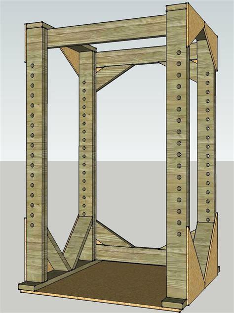 diy wood squat rack plans