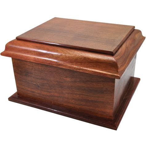 wholesale stately wood cremation urn