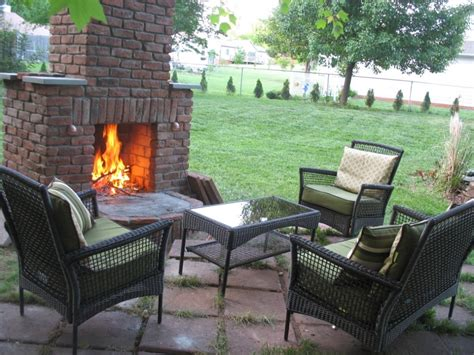 diy outdoor fireplace 12 outdoor fireplace plans add warmth and ambience to