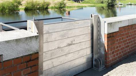 hochwasserschutz selber bauen hochwasserschutz selber bauen mobiler hochwasserschutz eingangst ren keller garage landschaft