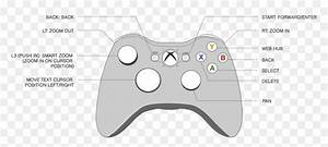 Transparent Xbox Controller Clipart