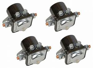 Four  4  Winch Solenoids Solenoid Relay For Early Warn Models Xd9000i 9 5ti 7110769724710