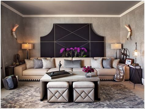 decorative ottomans living room stylish ottomans for decorating your living room