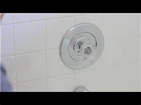 faucet repair   remove  single handle bath shower