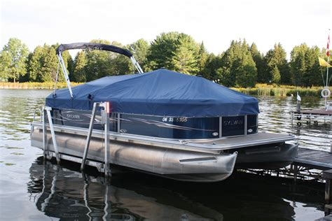 In Water Boat Lift by Pontoon Boat Lifts Shallow Water Pontoon Lifts R J