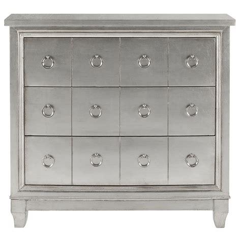 city furniture adria silver accent chest