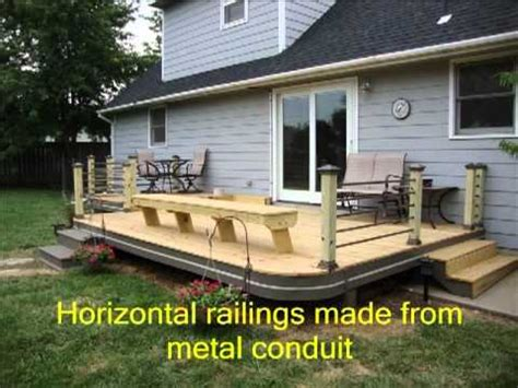 level house plans diy deck ideas part one part two update now available