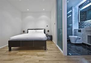 Glass Bathroom Walls For Master Suite Separation