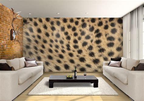 leopard custom wallpaper mural print  jw aurora