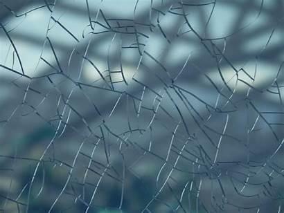 Broken Screen Cracked Glass Crack Shattered Window