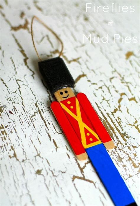 toy soldier craft for kids how to make a wooden soldier ornament inner child