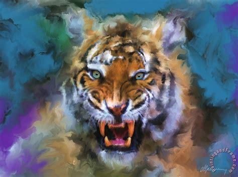 michael greenaway big cat dream painting big cat dream