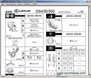 Lexus Gs430  Gs300   1998 Repair Manual Download