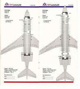 Airlines Past  U0026 Present  American Airlines Seating Guide