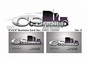 Cs trucking business card by fireproofgfx on deviantart for Trucking business card ideas