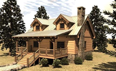 Small House Plans My Dream Mountain Lodge/Cabin Cabin