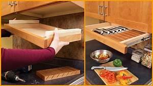Easy DIY Kitchen Storage Ideas How To Make A Kitchen Storage
