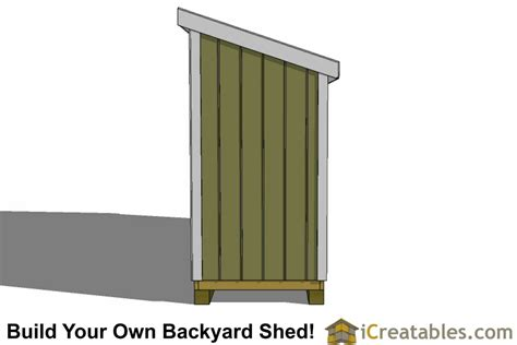 4x16 lean to shed plans 4x16 storage shed plans