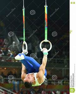 Olympic Champion Eleftherios Petrounias Of Greece Competes ...