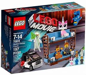 2015 LEGO Movie Double-Decker Couch 70818 Set Revealed ...