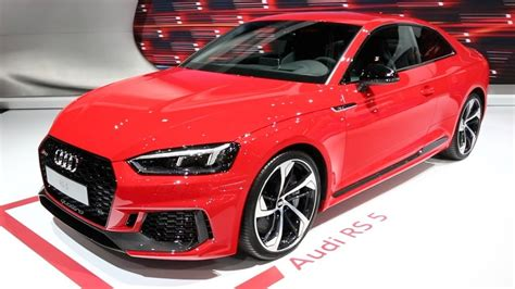 2018 Audi Rs5  2017 New York Auto Show Youtube