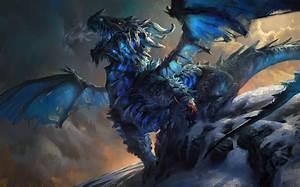 Astolfo, the Ice Dragon by MikeAzevedo on DeviantArt