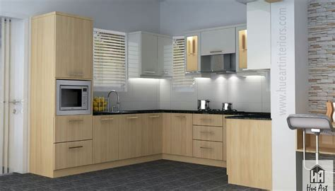 Fabulous Simple Contemporary Modular Kitchen Home Interior