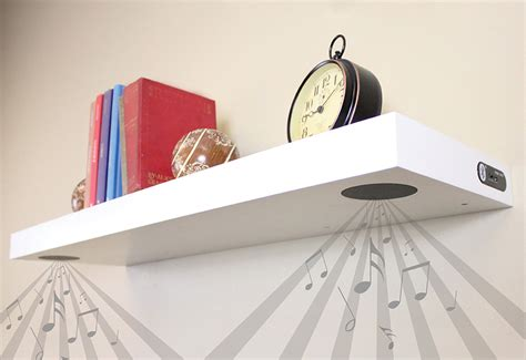 bluetooth shelf speakers bluetooth speaker shelf new gizmo