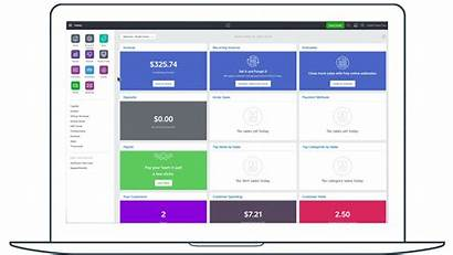 Dashboard Square Overview Menu Apps Production Navigation