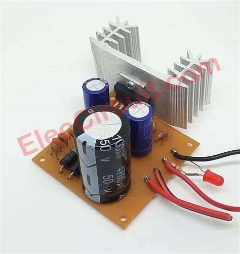 simple 12v to 24v step up converter circuit using tda2004 eleccircuit