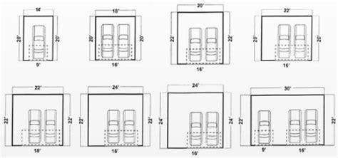 standard 2 car garage size dimension garage maison fran 231 ois fabie