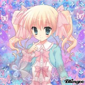 anime girl butterfly (pink blue) Picture #117726680 ...