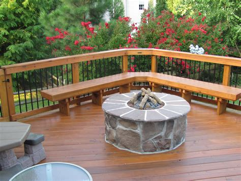 Mancini Pool Decks by Deck With Fire Pit Ideas Home Design Ideas