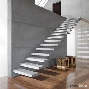 Außen Treppenstufen Beton : roomstone fertigteilstufen aus sichtbeton ~ Michelbontemps.com Haus und Dekorationen