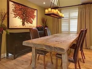 Tavoli in legno grezzo (Foto) Design Mag
