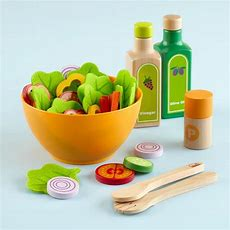 Salad Set In Kitchen & Grocery  The Land Of Nod  Kids