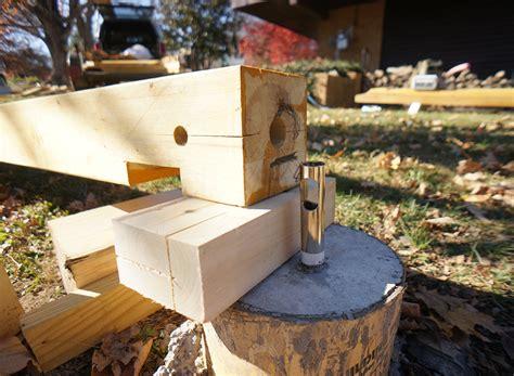 Install A Hidden Concrete Post Anchor