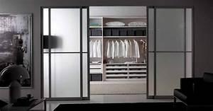 Dressing Avec Miroir : dressing portes coulissantes jesse ~ Teatrodelosmanantiales.com Idées de Décoration