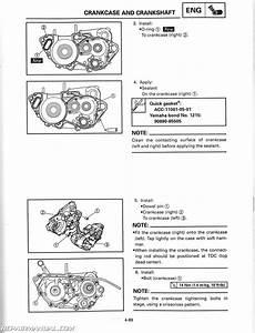 2000 Yamaha Yz250 Motorcycle Service Manual