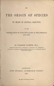 On the Origin of Species - Wikipedia
