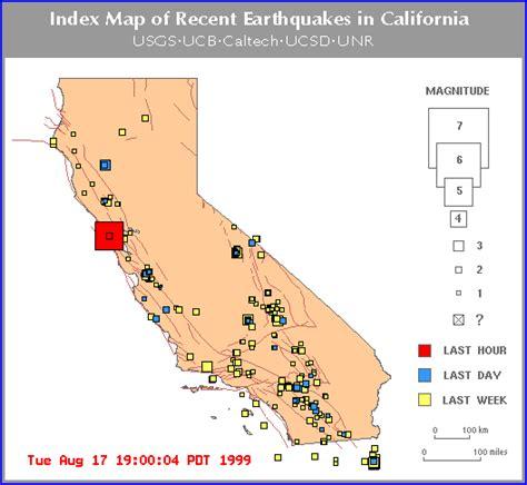 earthquake map bay area