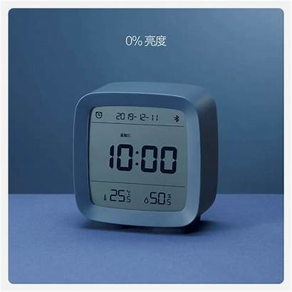 Clock Alarm App Night Humidity Temperature Bluetooth