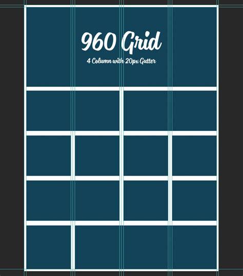 grid psd  column simon web design