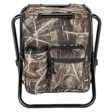 cing fishing backpack folding stool with cooler bag 24 can camo all cing gear now