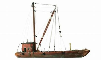 Barge Ho Scale Derrick Lighter Industrial Waterline