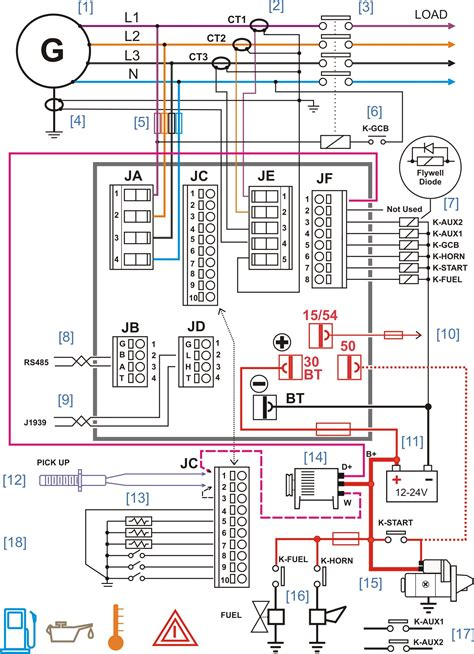 panel wiring diagram diesel generator panel wiring diagram diesel generators in 2019 electrical circuit