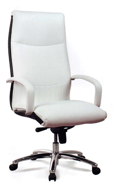 white office chair leather quality office chairs for any home office