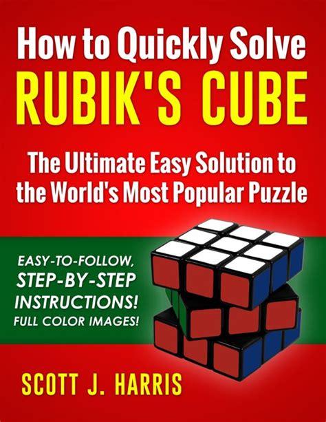 Bolcom  How To Quickly Solve Rubik's Cube (ebook) Epub Zonder Kopieerbeveiliging (drm) , Scot