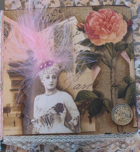 Canadian Scrap Tramp Women Roses Board Book
